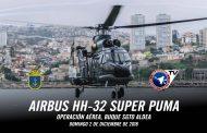 Helicópteros HH-32 Super Puma operando en Buque Sargento Aldea