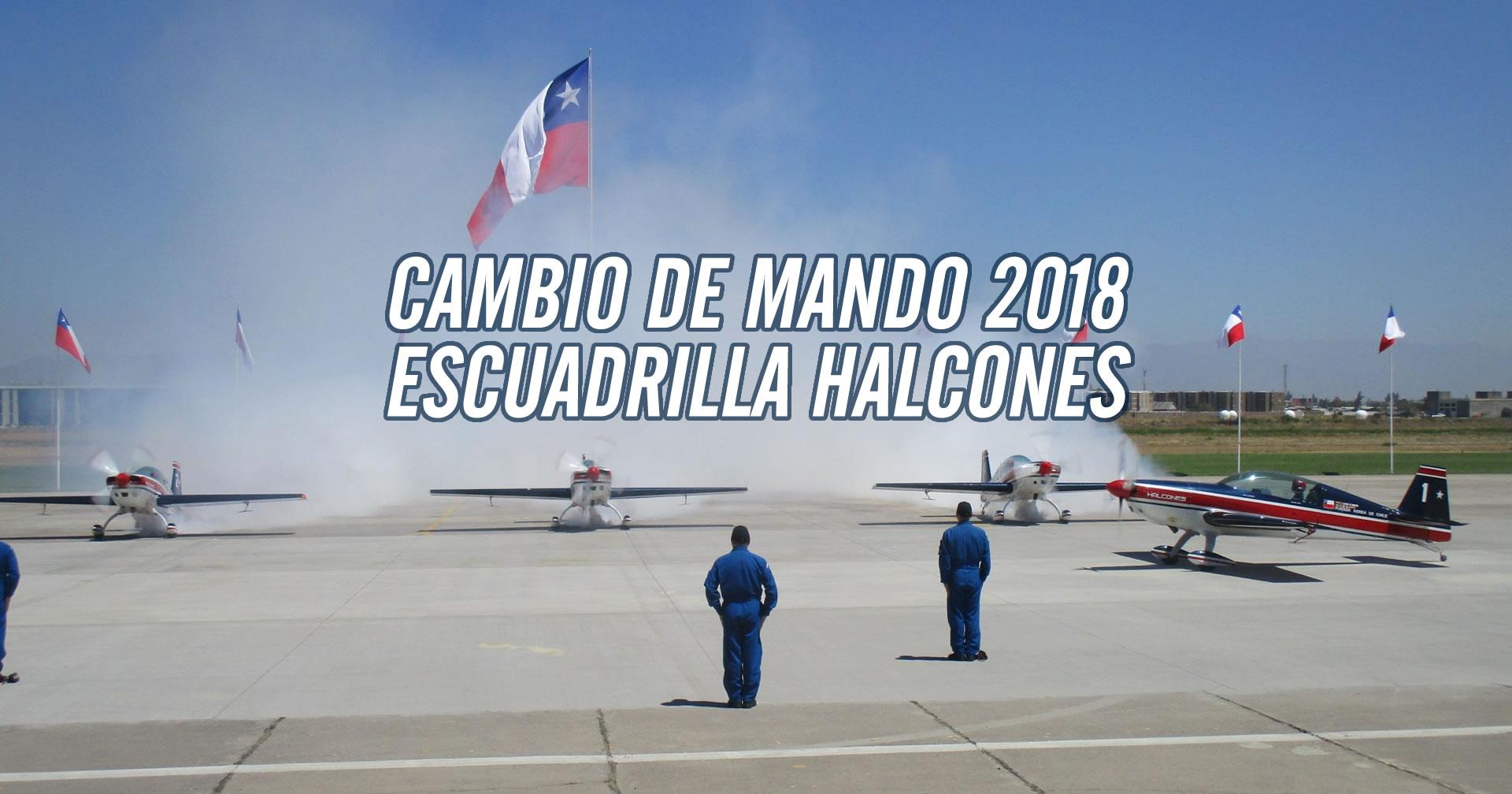 Gladiador es el nuevo líder de Escuadrilla Halcones 2018