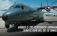 Aeronave P-295 será el guía del 10 Air Tanker