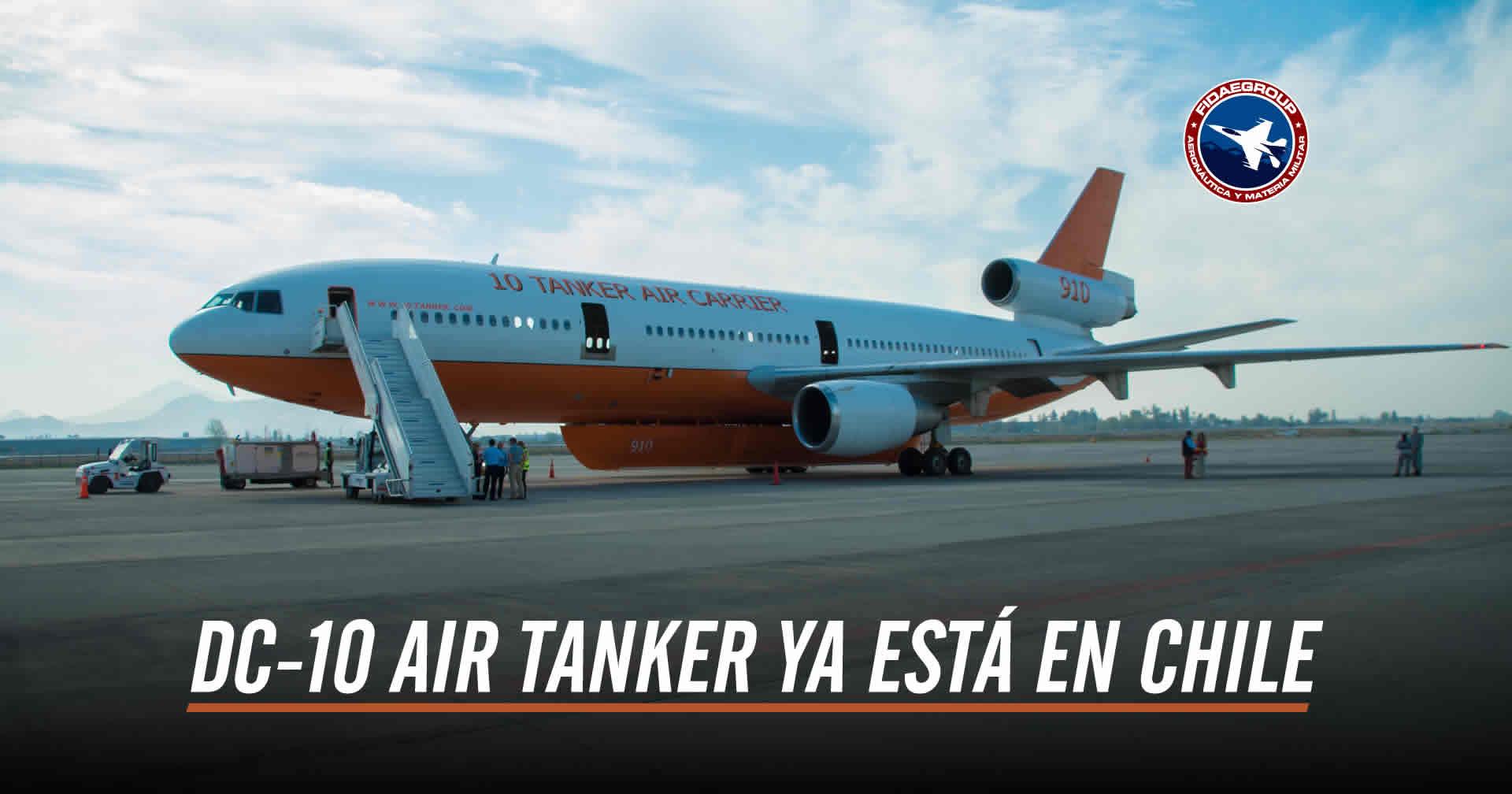Photo of LA AERONAVE DC-10 AIR TANKER YA ARRIBÓ A SANTIAGO DE CHILE