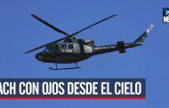 Fuerza Aérea de Chile y sus ojos sobre las manifestaciones