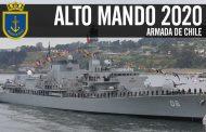 ALTO MANDO 2020: Armada de Chile