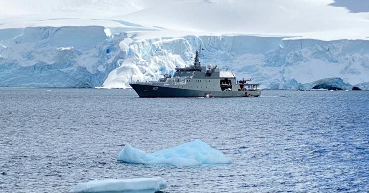 Los primeros hitos de la Armada y la Campaña Antártica 2019-2020