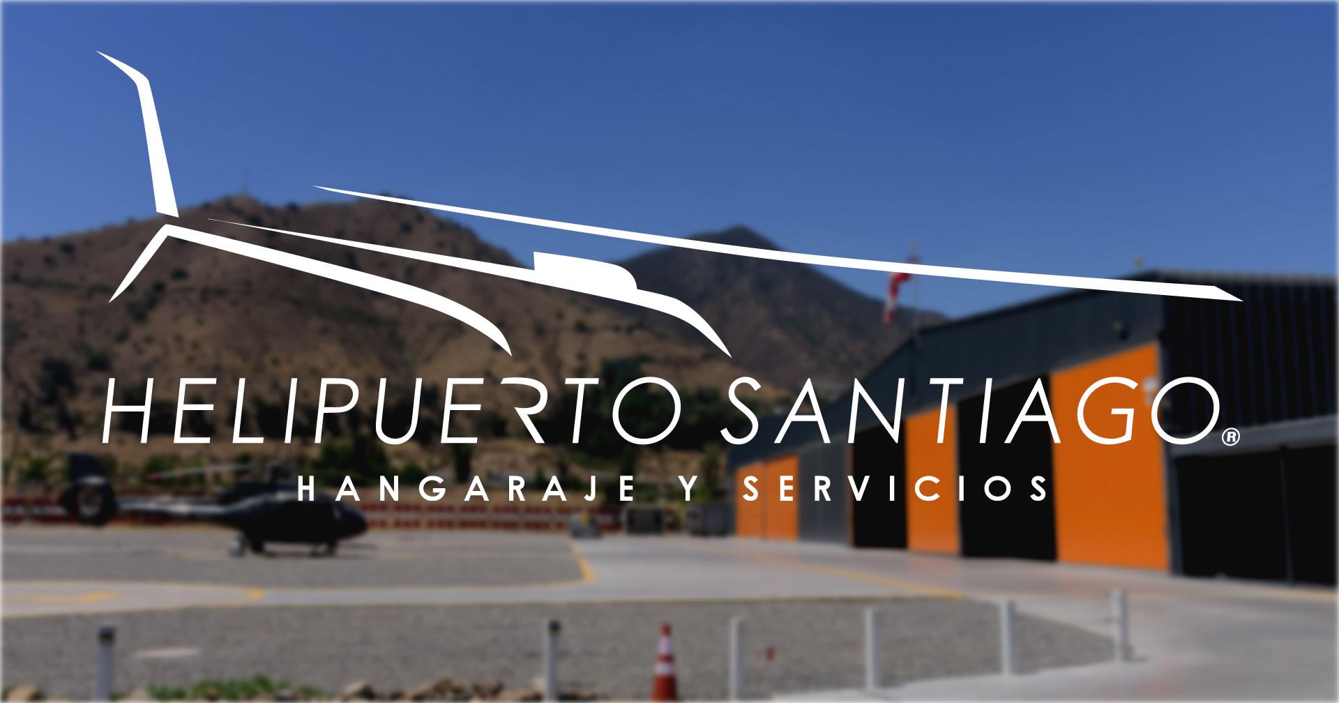 Helipuerto Santiago se posiciona como la mejor opción de hangaraje en Ciudad Empresarial