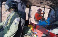 FACh rescata a parapentista accidentado en Alto Jahuel