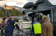 Fuerza Aérea de Chile realizó evacuación aeromédica de recién nacido prematuro