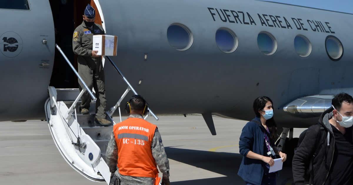 Fuerza Aérea realizó exitoso traslado de órganos