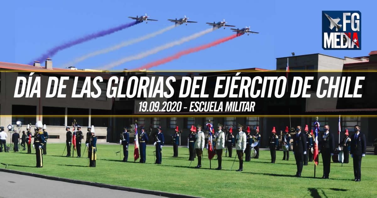 Histórica ceremonia Glorias del Ejército 2020