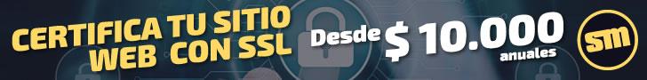 Certificados SSL para que tu sitio sea seguro.