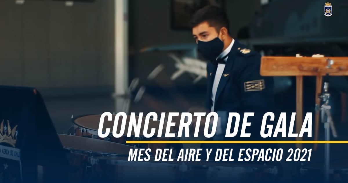 CONCIERTO DE GALA MES DEL AIRE Y DEL ESPACIO 2021 / 26 de marzo 2021