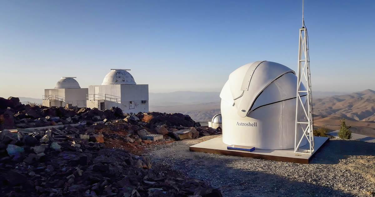 Nuevo telescopio de ESO es instalado en el observatorio La Silla