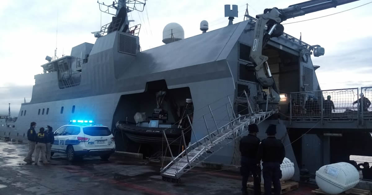 Concluye operativo de Búsqueda y Salvamento tras hallazgo de tripulantes de embarcación siniestrada en sector Cabo Froward