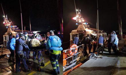 Autoridad Marítima de Quellón realizó evacuación médica de urgencia desde Isla Laitec