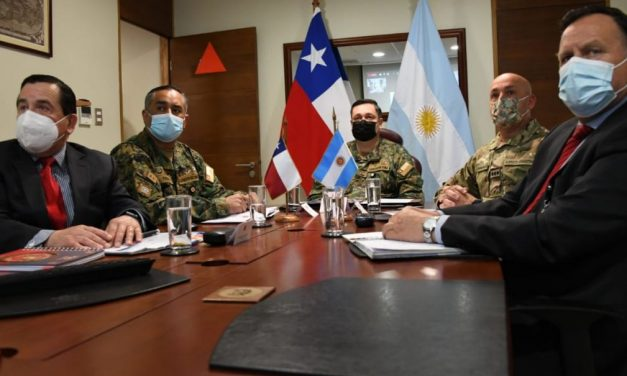 XXI Reunión Bilateral de Estado Mayor entre los ejércitos de Chile y Argentina